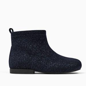 Zara Dark Blue Boots